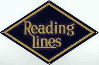 "8"" Die-Cut Metal Sign ""Reading Lines"""