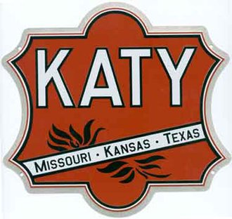 "8"" Die-Cut Metal Sign ""MKT Katy"""