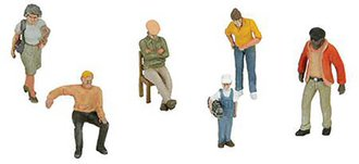 1:48 6-Piece Figure Set (Assortment #2)