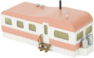 1:48 Stainless Mobile Home (Salmon/White)