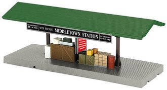 "1:48 O Operating Freight Platform ""Middletown Station"""