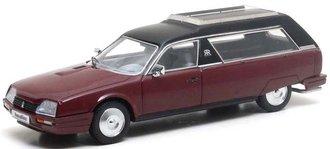 1:43 1979 Citroën CX Heuliez Corbillard Hearse (Maroon)