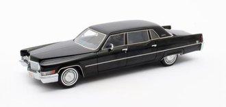 1:43 1970 Cadillac Fleetwood Series 75 Limousine (Black)