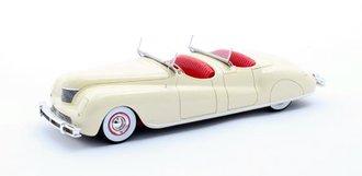 1:43 1941 Chrysler Newport Dual Cowl Pheaton LeBaron (Cream)