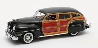 1:43 1942 Chrysler Town & Country Wagon (Black)