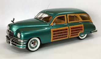 1:43 1948 Packard Eight Station Sedan (Green Metallic)