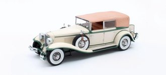 1:43 1931 Cord L-29 Phaeton Sedan closed (Crème)