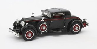 1:43 1930 Stutz Model M Supercharged Lancefield Coupe (Black)