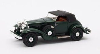 1:43 1932 Stutz DV32 Super Bearcat (Closed) (Green)