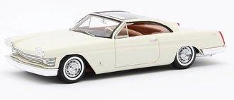 1959 Cadillac Starlight Coupe Pininfarina (White)