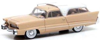 1:43 1956 Chrysler Plainsman Concept (Beige/White)
