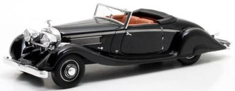 1:43 1935 Hispano-Suiza K6 Cabrio Brandone (Black)