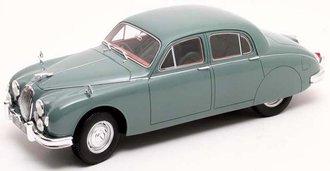 1:18 1955 Jaguar 2.4 MK I (Green)