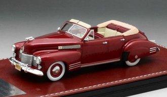 1941 Cadillac Series 62 4D Convertible (Maroon)