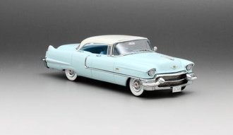 1956 Cadillac Sedan de Ville (Blue/White)