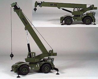 Grove RT750 Military Crane