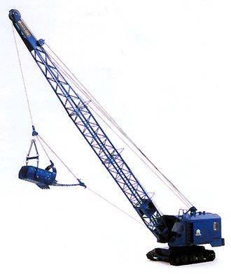 Menck M251 Dragline Excavator