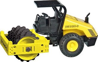Bomag BW 213 Padfoot Compactor w/Rops