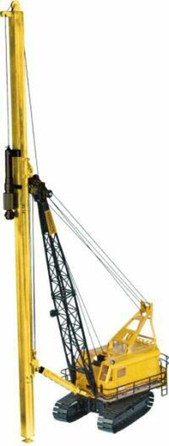 Weserhutte W180 Ramming Rig (Yellow)