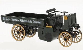 1:43 1898 Daimler Truck (Dark Green)
