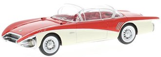 1:43 1956 Buick Centurion (Red/White)