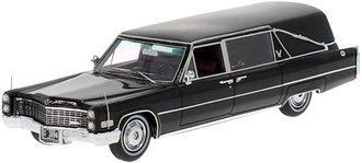 1966 Cadillac S&S Landau Hearse (Black) w/Enclosed Casket