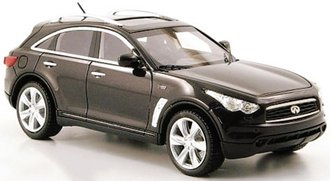 1:43 2010 Infiniti FX50S (Dark Gray Metallic)