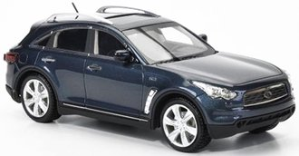 1:43 2010 Infiniti FX50S (Blue Metallic)
