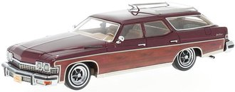 1:43 1974 Buick Le Sabre Estate Wagon (Dark Red Metallic w/Wood Optics)