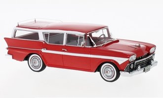 1958 AMC Rambler Custom Cross Country 6 Station Wagon (Red)