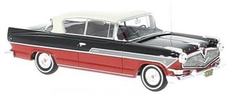 1957 Hudson Hornet 2-Door Hardtop (Red/Black)
