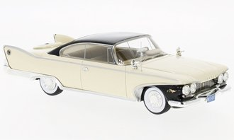 1960 Plymouth Fury Coupe (Light Beige/Black)