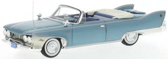 1960 Plymouth Fury Convertible (Metallic Turquoise/White)