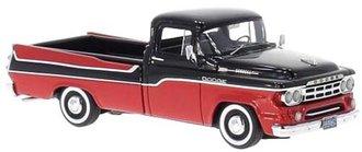 1:43 1959 Dodge Pickup Truck (Red/Black)