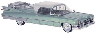 1959 Cadillac S&S Superior Flower Car (Green Metallic)