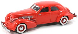 1937 Cord 812 Coupe (Red)