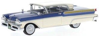 1957 Mercury Turnpike Coupe (Blue/White)