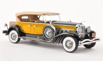 1930 Duesenberg Model J Tourster Derham (Yellow)