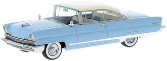 1:43 1956 Lincoln Premiere Hardtop Coupe (Blue/White)