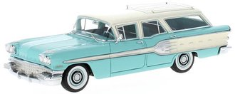 1958 Pontiac Star Chief Safari (Turquoise/White)