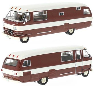 1:43 1963 Dodge Travco (Brown/Beige)