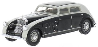 1:43 1932 Mayback DS8 Stromlinie Spohn (Grey/Black)