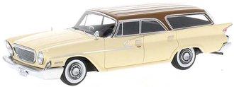 1961 Chrysler Newport Wagon (Beige/Brown)