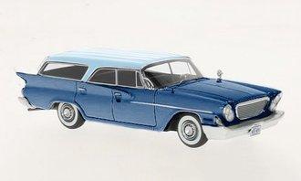 1961 Chrysler Newport Wagon (Blue Metallic/Light Blue Metallic)