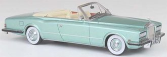 1971 Rolls-Royce Phantom VI Frua DHC Convertible (Green Metallic)