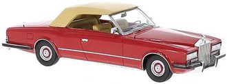 1971 Rolls-Royce Phantom VI Frua Drophead Coupe (Red)