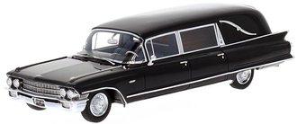 1:43 1962 Cadillac Series 62 Miller-Meteor Hearse (Black)
