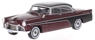 1:43 1956 DeSoto Firedome 4-Door Seville (Dark Red Metallic/Black)