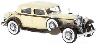 1933 Stutz DV32 Monte Carlo Sedan by Weymann (Beige/Brown)