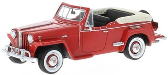 1948 Willys Jeepster (Red)